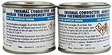 MG Chemicals Thermal Conductive Adhesive, Medium Cure, 494 g, 2-Part Epoxy Kit