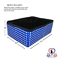 Pet Fit For Life Collapsible Portable Litter Box and Bonus Pet Fit For Life Cat Feather Toy