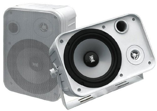 (SOUND AROUND ELECTRONICS 5071WP 500 Watts 2-Way Indoor/Outdoor Waterproof Speaker System)