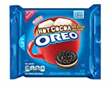 Oreo Hot Cocoa Chocolate Sandwich Cookies, Limited Edition, 10.7 Ounce