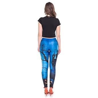Pantalones Leggings Vestir Deportivos Yoga Halloween Fiesta para Mujer Otoño Invierno 2018 PAOLIAN Pantalones Running Fitness Moda Cintura Alta Jogger de ...