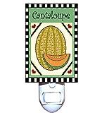 Country Cantaloupe Decorative Night Light