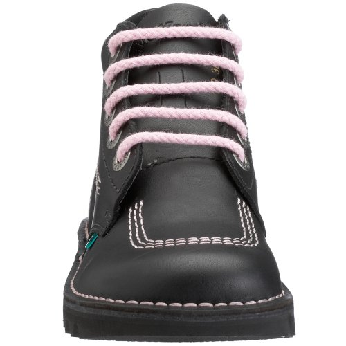 Kickers Hi Core, Bottes Femme Multicolore (black/pink/black)