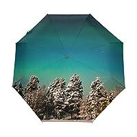 Ethel Ernest Stars Milky Way Folding Windproof Umbrella Waterproof Auto Foldable Umbrella