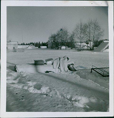 Village Under Snow - 8