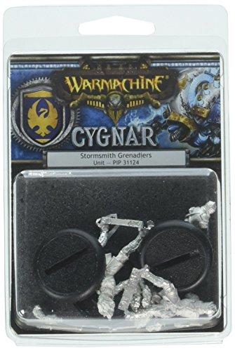 (Privateer Press War Machine Cygnar Stormshith Grenadiers Kit)