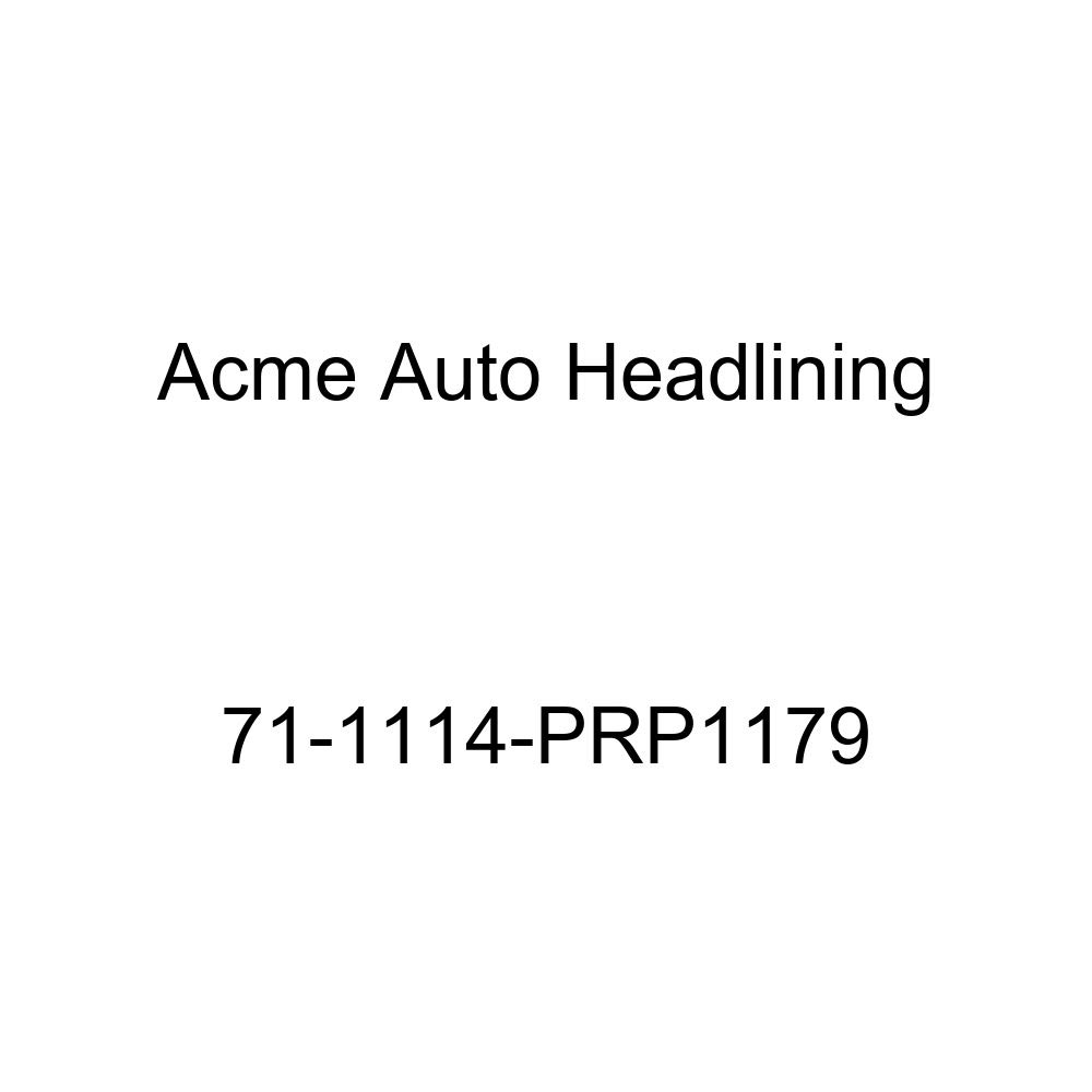 Acme Auto Headlining 71-1114-PRP1179 Black Replacement Headliner 5 Bow 1971 Buick Lesabre 4 Door Hardtop