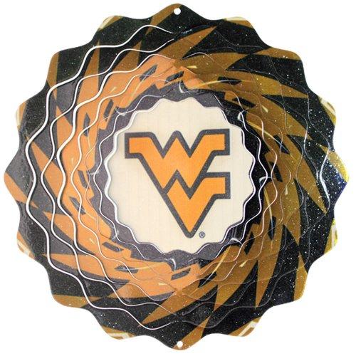 Iron Stop University Of West Virginia Wind Spinner