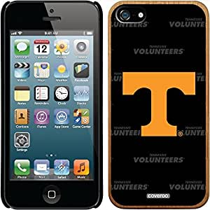 Coveroo iPhone 6 plus 5.5 Madera Wood Thinshield Case with University of Tennessee Dark Repeating Design