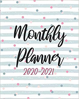 2020 2021 Monthly Planner Cute Cover 24 Months Calendar Agenda January 2020 To December 2021 Schedule Organizer With Holidays And Inspirational Quotes Mitchell Dora S 9781688477919 Amazon Com Books
