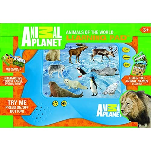 Well Wreapped Animal Planet Animals Of World Learning Pad