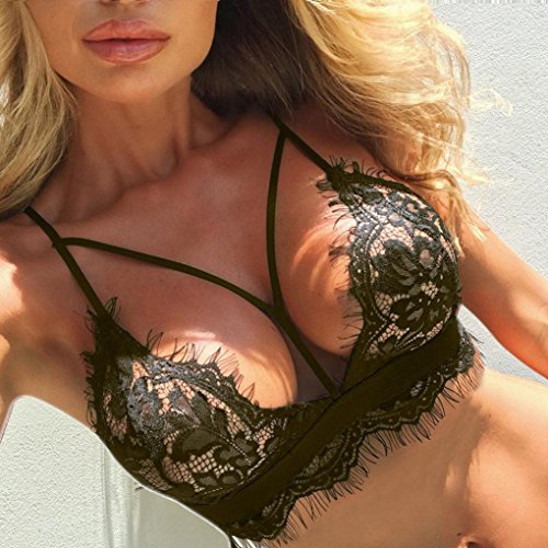 Underwear Capi Set Top Flowers Briefs Lingerie di Bra Lace Push Corset Lingerie da Women Fami Donna Up Green Army abbigliamento Familizo TUdBxqq