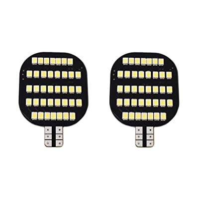 GRV T10 LED Light Bulb 38-2835 SMD Super Bright Lamp AC/DC 12-24V 3.5Watt Version3.0 Suitable for Boat RV Trailer Camper Motorhome Ceiling Dome Cool White Pack of 2: Automotive