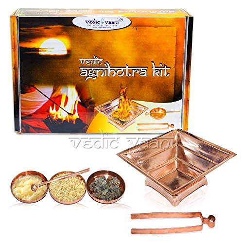 Agnihotra Kit for Daily Homam by Vedic Vaani
