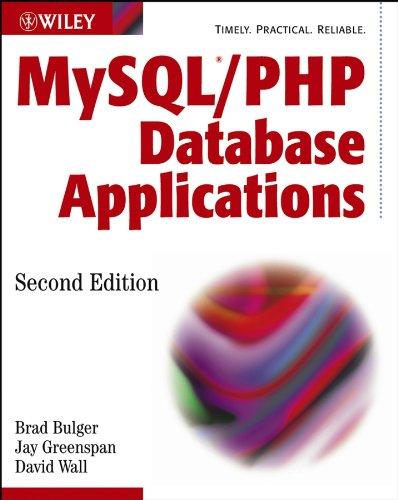 Download MySQL / PHP Database Applications Pdf