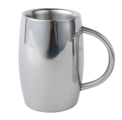 Isenretail Juegos de té, Acero Inoxidable Termo Jarra de Cerveza, Taza de té/
