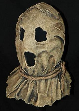 Máscara de espantapájaros de caballero oscuro Deluxe adulta