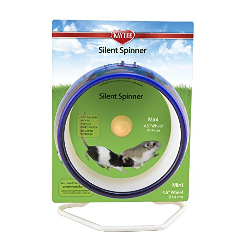Kaytee Silent Spinner Exercise Wheel, Mini, 4.5,