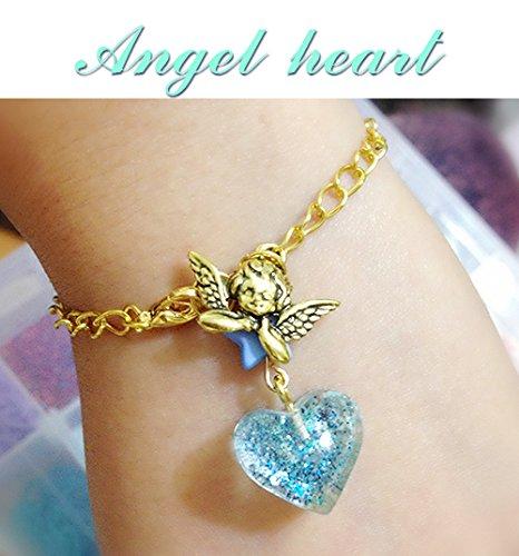 - Custom cabbage price! Handmade soft sister Angel Bracelet Angel Heart Bracelet