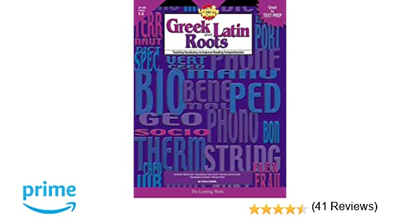Amazon.com: Learning Works Greek and Latin Roots - Grade Level 4 ...