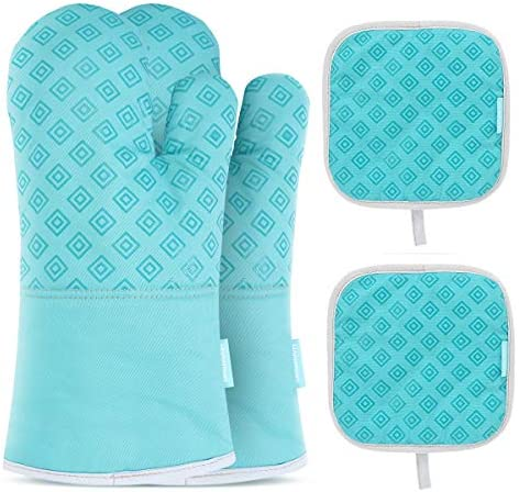 Homemaxs Resistant Non Slip Silicone Turquoise product image