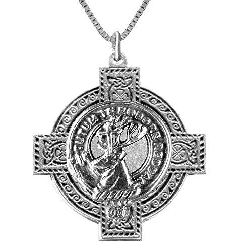 (Crawford Scottish Clan Crest Celtic Cross)