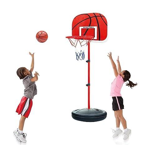 CX TECH Baloncesto para niños Soporte de Altura Altura Baloncesto ...