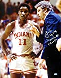 Autographed Bob Knight Photo - Bobby 1981 Champs 16x20 Steiner) - Autographed College Photos