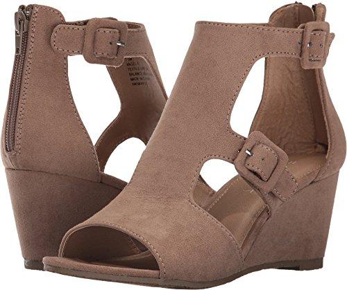 Esprit Womens Angel-e Open Toe Sandali Piattaforma Casual Cammello