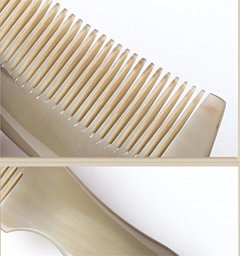 GuiXinWeiHeng Handmade white horns comb comb by GuiXinWeiHeng (Image #3)