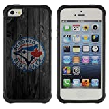 King Case@ Toronto Blue Jay Baseball Rugged hybrid Protection Impact Case Cover For iphone 5S CASE Cover ,iphone 5 5S case,iphone5S plus cover ,Cases for iphone 5 5S