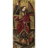 Oil painting 'Ximenez Miguel San Miguel 1475 85 ' printing on high quality polyster Canvas , 30 x 65 inch / 76 x 164 cm ,the best Home Office artwork and Home artwork and Gifts is this Best Price Art Decorative Prints on Canvas