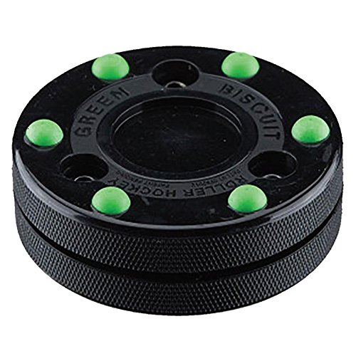 Green Biscuit Roller Puck - Puck Hockey Roller