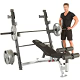 IRONMAN Triathlon X-Class Olympic Weight Bench with Detachable Leg Hold-Down Review