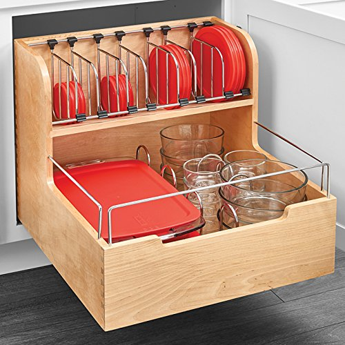 Rev-A-Shelf 4FSCO Series Food Storage Container Organizer by handyct