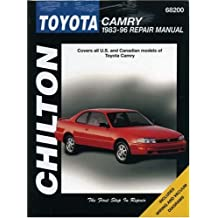 Toyota Camry 1983-96 Repair Manual (Chilton's Total Car Care)