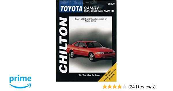 Toyota camry 1983 96 repair manual chiltons total car care dawn toyota camry 1983 96 repair manual chiltons total car care dawn m hoch 9780801989551 amazon books fandeluxe Images