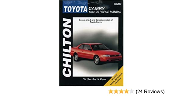 Toyota camry 1983 96 repair manual chiltons total car care dawn toyota camry 1983 96 repair manual chiltons total car care dawn m hoch 9780801989551 amazon books fandeluxe Choice Image