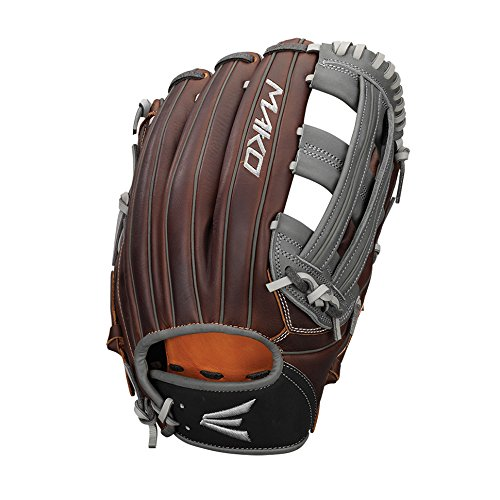 Easton Mako Legacy Series Outfield Pattern Gloves, 12.75