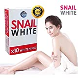 3 box Gluta,Glutathione,Soap Snail White Whitening,Dark Spots Damage Skin 70g.