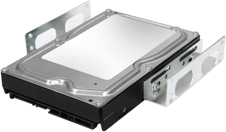 "Kingwin SSD Hard Drive Mounting Kit Internal, Convert Any 3.5"" Solid State Drive / HDD Into One 5.25 Inch Drive Bay.Mounting Screws Included, Quick and Easy Installation [HDM-229]"