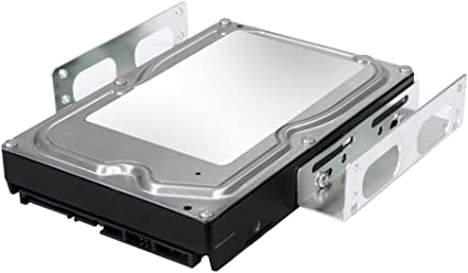 3.5inch Hard Drive MOUNTING FRAME//KIT for 5.25inch Bay