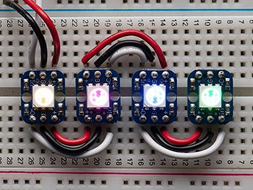 Adafruit Breadboard-friendly Rgb Smart Neopixel - Pack Of 4