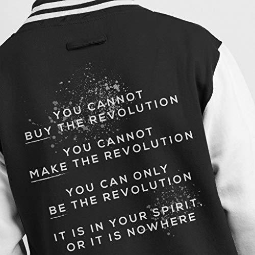 Varsity Varsity Varsity Ursula Men's Buy Guin Quote Le K Revolution Revolution Revolution Cannot Black Jacket You White The RwxBTvaq