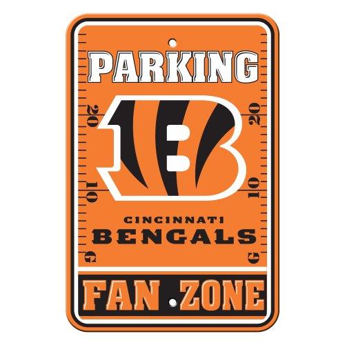 NFL Cincinnati Bengals Plastic Parking Signs ()