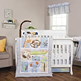 Jungle Fun Animal Baby Bedding Collection by Trend Lab 6 pc. Crib Set