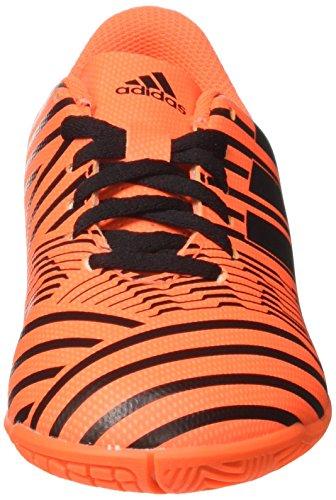 adidas Jungen Nemeziz 17.4 in J Fußballschuhe Mehrfarbig (Solar Orange/core Black)