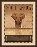 Global Designs GBL8521 ''South Africa'' Giclee Print