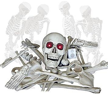 Wie Funktioniert Bewegungsmelder skelett teile mit licht sound und bewegungsmelder der auch bei