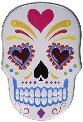 Boston America Sugar Skulls Sweet Candy Skulls Display, 2.75 Pound America Sugar